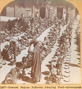 Government famine relief, Ahmedabad, India, during the Indian famine of 1899–1900.