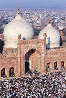 The Friday Prayers at the Badshahi Mosque in Lahore