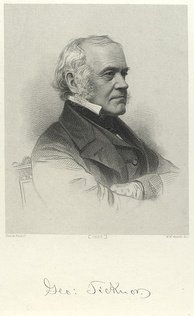 Everett's friend George Ticknor (1867 engraving)