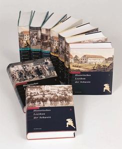 The first three printed volumes, in German, French and Italian.
