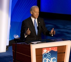 Biden delivers his nomination acceptance speech on the third night.