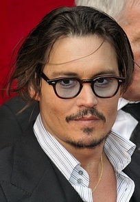 Depp at the Paris premiere of Public Enemies in July 2009