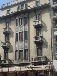 The apartment house in Athens where Callas lived from 1937 to 1945