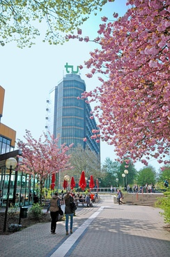 Dortmund University's Mathetower