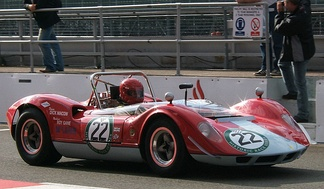 A McLaren M1A, one of the early Can-Am competitors that was equally at home in other sportscar series.