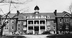 Exterior view of Mohawk Institute Residential School