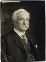 Morgan Bulkeley, the first president of the National League