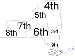New York judicial districts