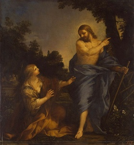 Christ Appearing to Mary Magdalene (between 1640 and 1650) by Pietro da Cortona