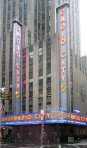 Radio City Music Hall, site of 11 VMAs, including the first