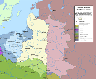 The Polish-Lithuanian Commonwealth after the Second Partition (1793)