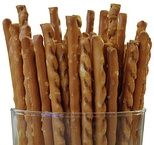 Party food in Japan, pretzel sticks called pretz