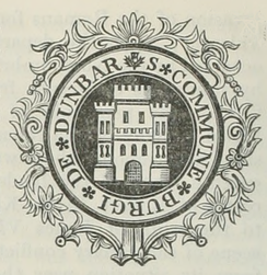 Seal of Dunbar from Samuel Lewis[9]