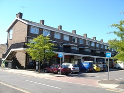 The Southgate neighbourhood's parade of shops