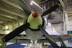 Closeup head-on view of a Tempest II