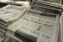 The Indianapolis Star is the city's daily morning newspaper and leading print media.