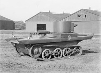The Vickers light amphibious tank saw service in the Thai (Siamese) army.