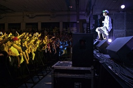 Wiz Khalifa at Colby College - May 2011