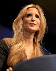 Coulter speaking at CPAC