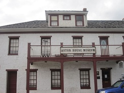 The Astor House Museum, the first stone building in Golden, was a boarding and rooming house from 1867 to 1971.