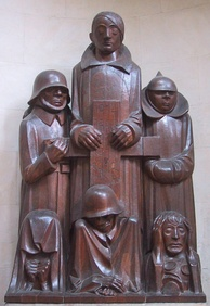 "Das Magdeburger Ehrenmal (the Magdeburg cenotaph), by Ernst Barlach was declared to be degenerate art due to the ""deformity"" and emaciation of the figures—corresponding to Nordau's theorized connection between ""mental and physical degeneration""."