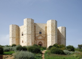 Castel del Monte, built by the Holy Roman Emperor Frederick II between 1240 and 1250 in Andria