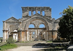 The Church of Saint Simeon Stylites in Aleppo, Syria, is considered to be one of the oldest surviving church buildings in the world.