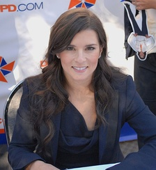 Danica Patrick became the first woman to win a pole position in a NASCAR Sprint Cup Series race