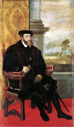 Portrait, 1548, by Lambert Sustris (formerly attributed to Titian)