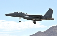 F-15K at Nellis AFB, Nevada, 2008 for the Red Flag 08-4 exercise