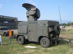 An Oerlikon Contraves Skyguard Radar of the Austrian Air Force
