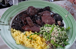 Portuguese-influenced Brazilian feijoada