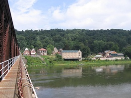 The Allegheny River at Foxburg, Pennsylvania