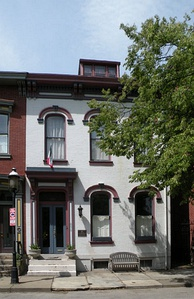 Gertrude Stein's birthplace and childhood home in Allegheny West