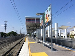 Compton Station of the LA Metro