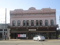 The Herbert S. Ford Memorial Museum and the Homer Chamber of Commerce jointly occupy the building of the former Claiborne Hotel building.
