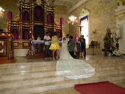 Wedding mass in the Philippines