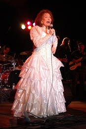 Gayle is the sister of country music artist Loretta Lynn. The pair have remained close since childhood.