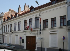 De Gaulle's birth house in Lille, now a national museum