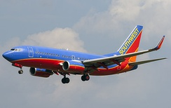 Southwest Airlines took delivery of the first 737-700 in December 1997