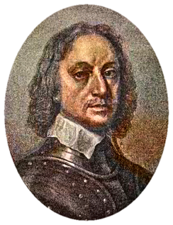 Oliver Cromwell, Lord Protector.