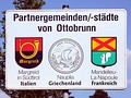 Ottobrunn, Germany Partnerschaftsschild Partner cities