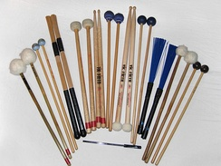 Percussion beaters and sticks
