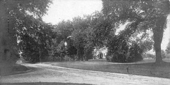 Main Street, looking south from Branchville Road, about 1906