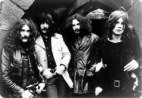 Black Sabbath in 1970 (from left), Geezer Butler, Tony Iommi, Bill Ward and Ozzy Osbourne.