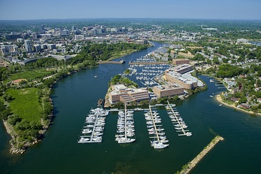 Stamford boasts miles of accessible shoreline for recreation as well as two public beaches.
