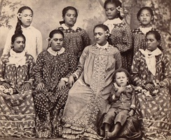 Tahitian girls, c. 1860–1879
