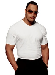 The Rock during a 2001 Vanity Fair photo shoot