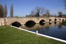 The Nine Arched Bridge at Thrapston