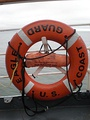 Commercial use ring buoy aboard USCGC Eagle